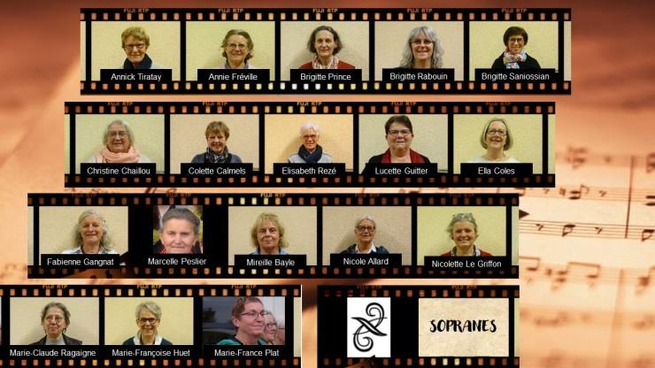 trombinoscope sopranes 2020